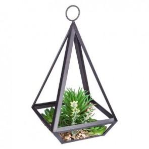 Planta artificial metal contem