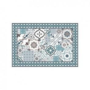 Caja de alfombra de mosaico de