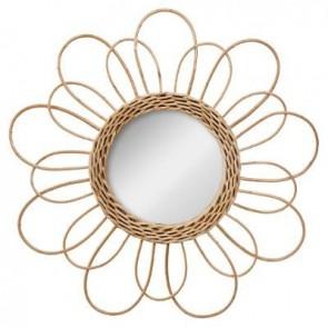 Diámetro del espejo de flor de