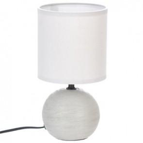 Lampara Cerámica Gris A 25 cm