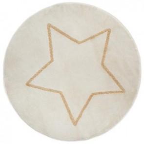 Alfombra redonda Lurex Star