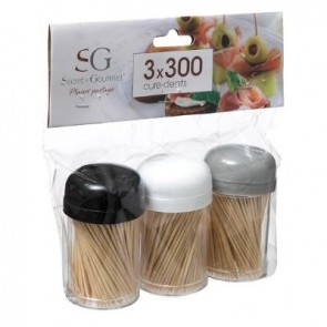 toothpick 3 pots estl  2- vece