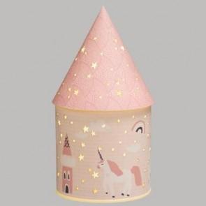 Lámpara de castillo de polipro