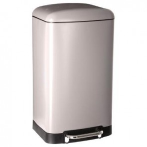 Cubo de basura Taupe 30L Arian