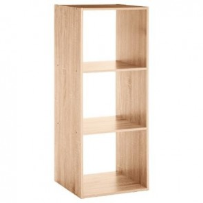 ETAGERE BOIS 3 CASES MIXMODUL