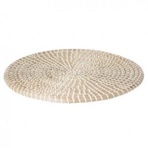 Mantel individual de cestería