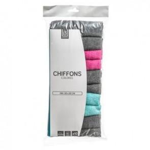 CHIFFON   LES COLORES  X10