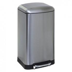 Cubo de basura de metal 30 l A