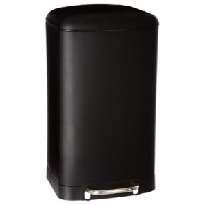 Cubo de basura 30L CR NOIR