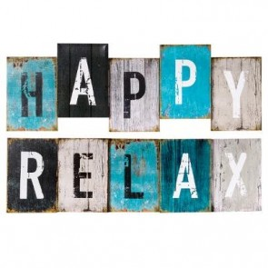 CARTEL HAPPY/RELAX 26X75