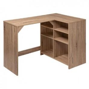 Escritorio de madera 4 + 2 caj