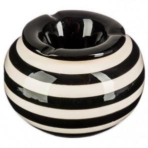Cenicero redondo de cerámica