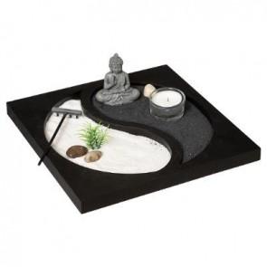 Jardín zen Yin Yang
