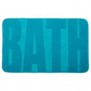 Alfombra azul para baño 50X80