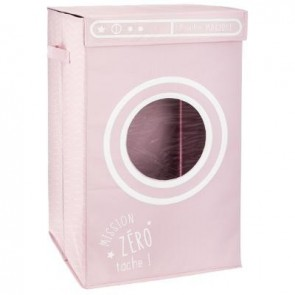 Bandeja de lavanderia rosa Hub